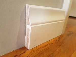 Lambs Tongue 92 x 18 MDF skirting board
