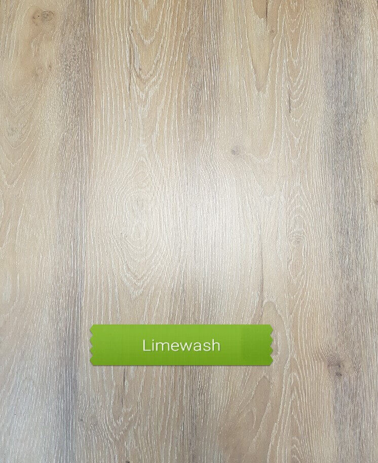 Limewash colour laminate floor