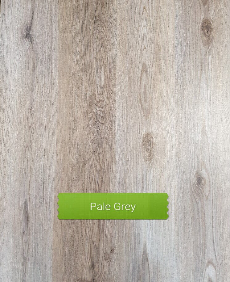 Pale Grey colour laminate floor