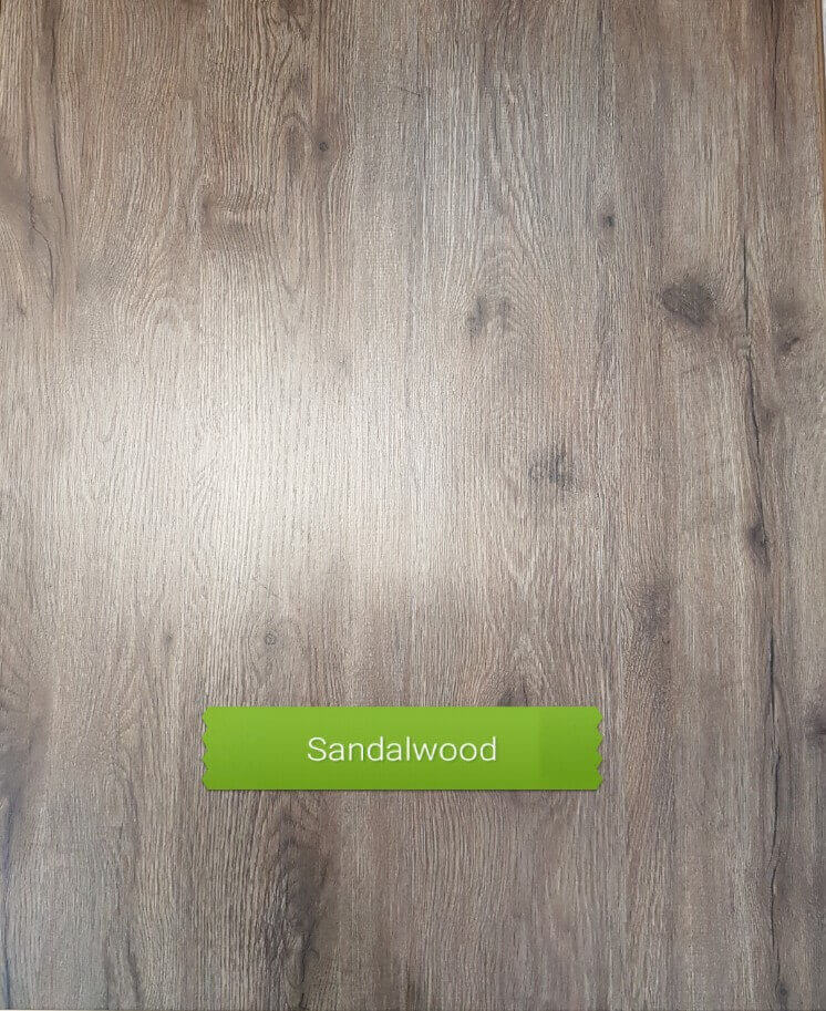 Sandalwood colour laminate floor
