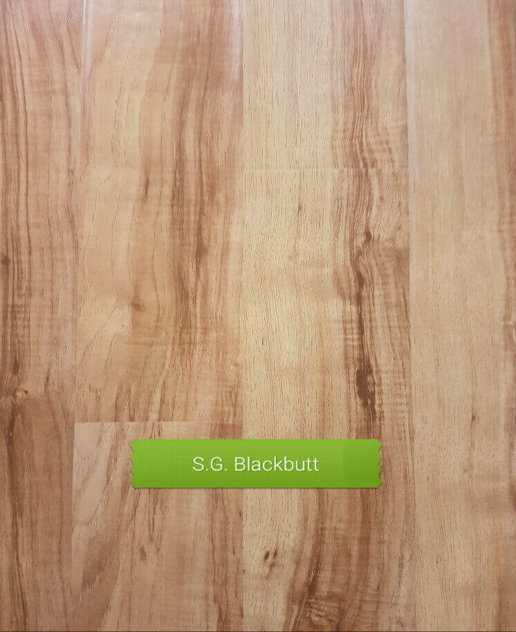 Semi Gloss Blackbutt colour