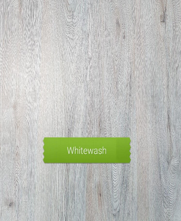 Whitewash colour laminate floor
