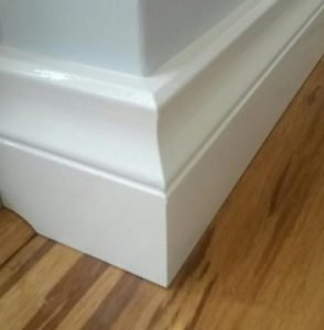 lambs tongue, skirting board, skirting services