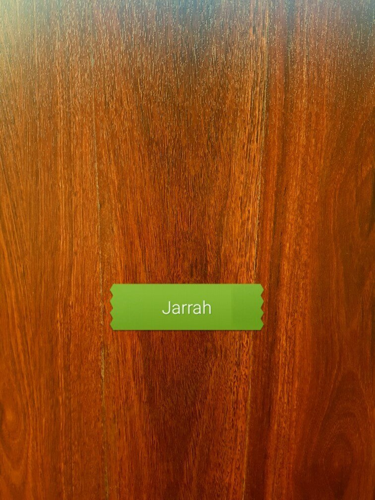 8mm Jarrah colour laminate floor