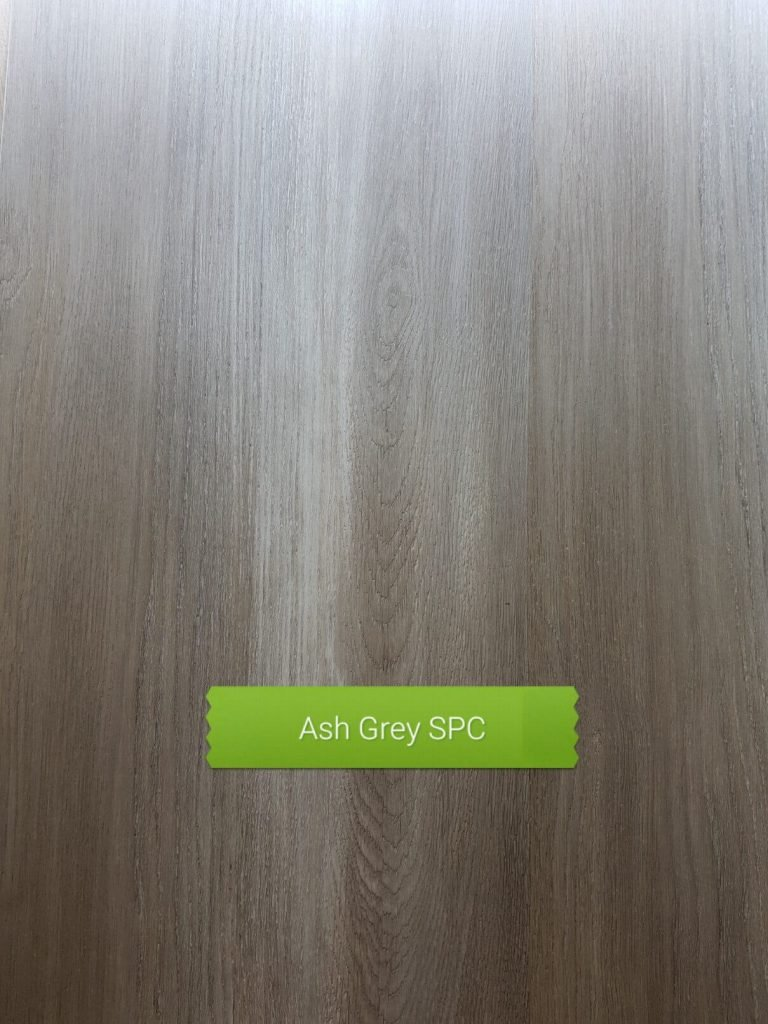 Ash Grey colour SPC waterproof floor board Perth