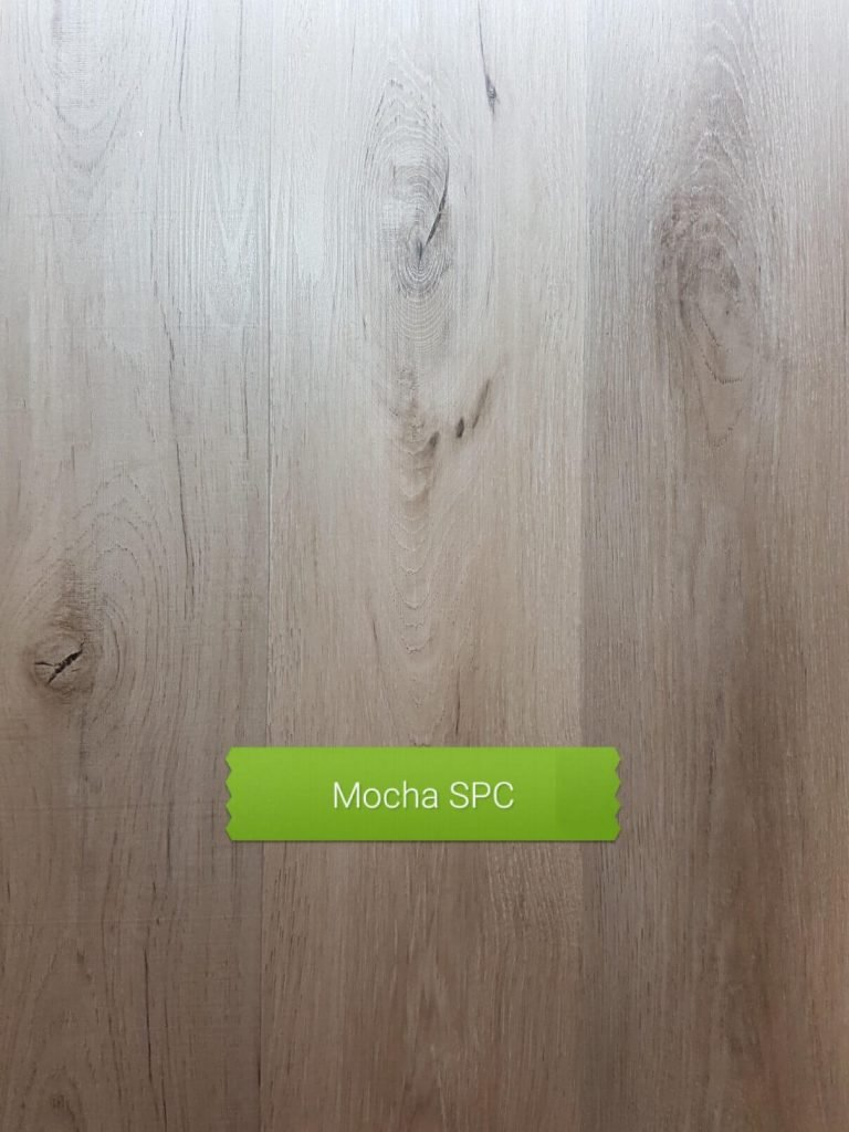 Mocha colour SPC waterproof floor board Perth