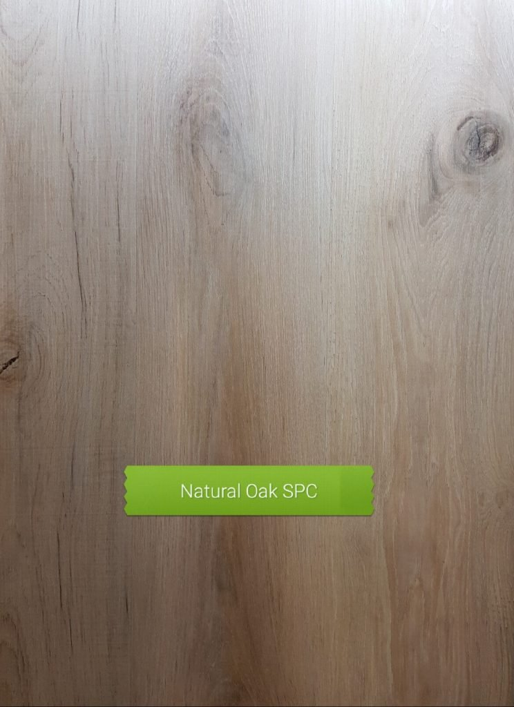 Natural Oak SPC waterproof floor board