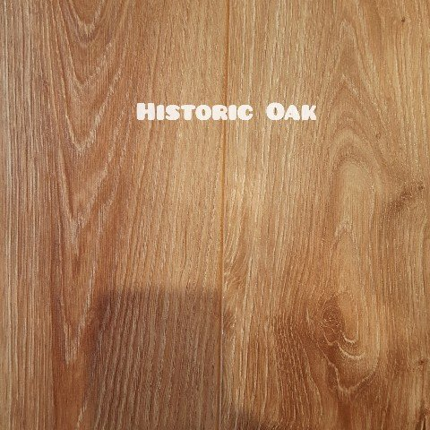 Historic Oak colour laminate floor
