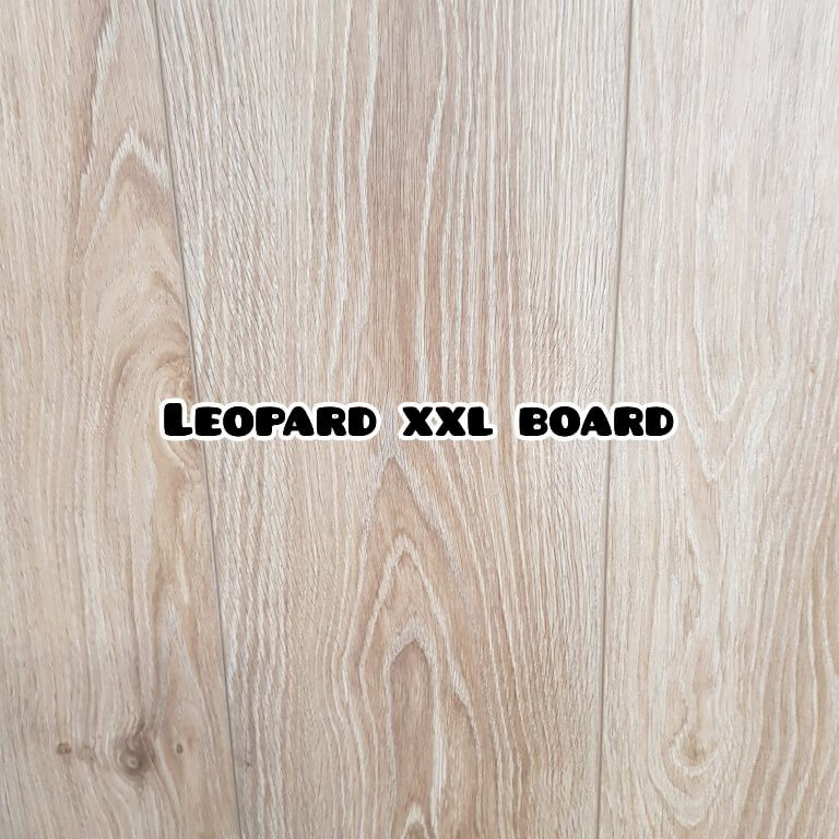 Leopard colour extra long laminate board