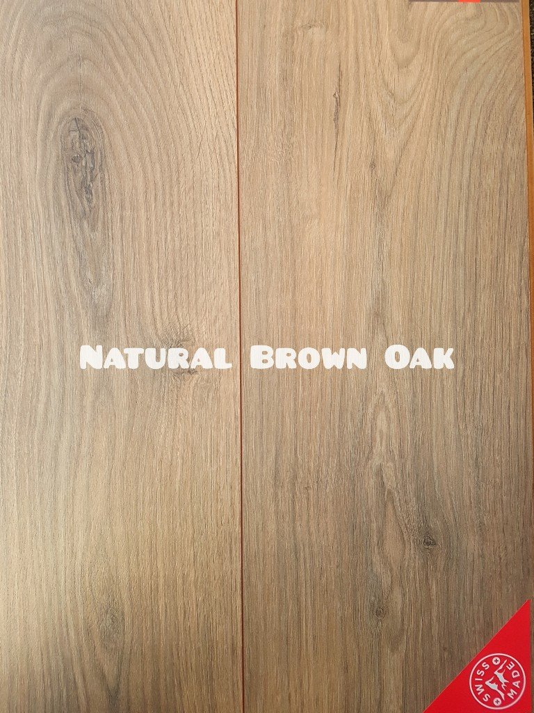 Kronos Natural Brown Oak colour 12mm laminate floor
