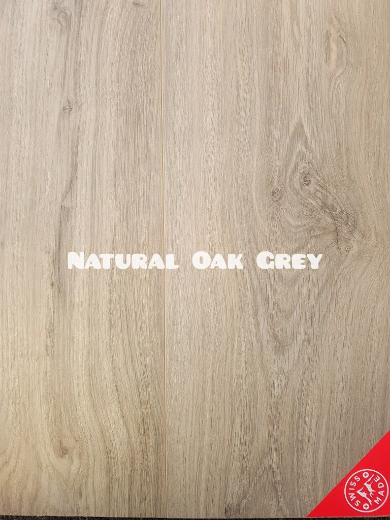 Kronos Natural Grey Oak colour 8mm laminate floor