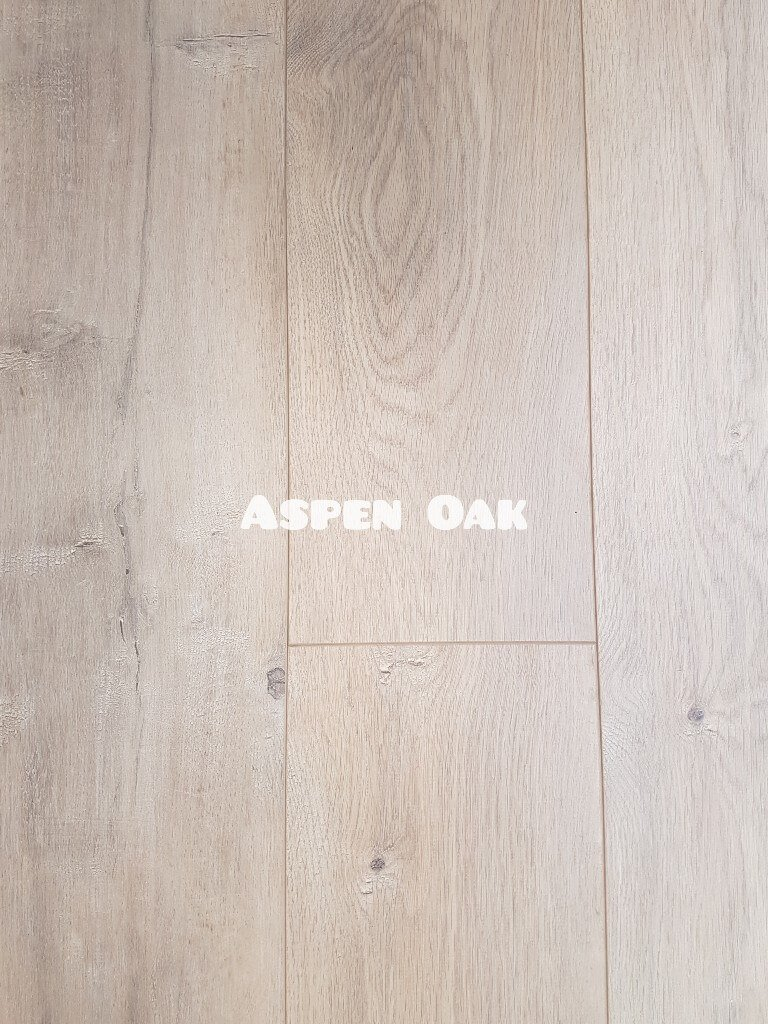 OL Aspen Oak colour 12mm laminate floor