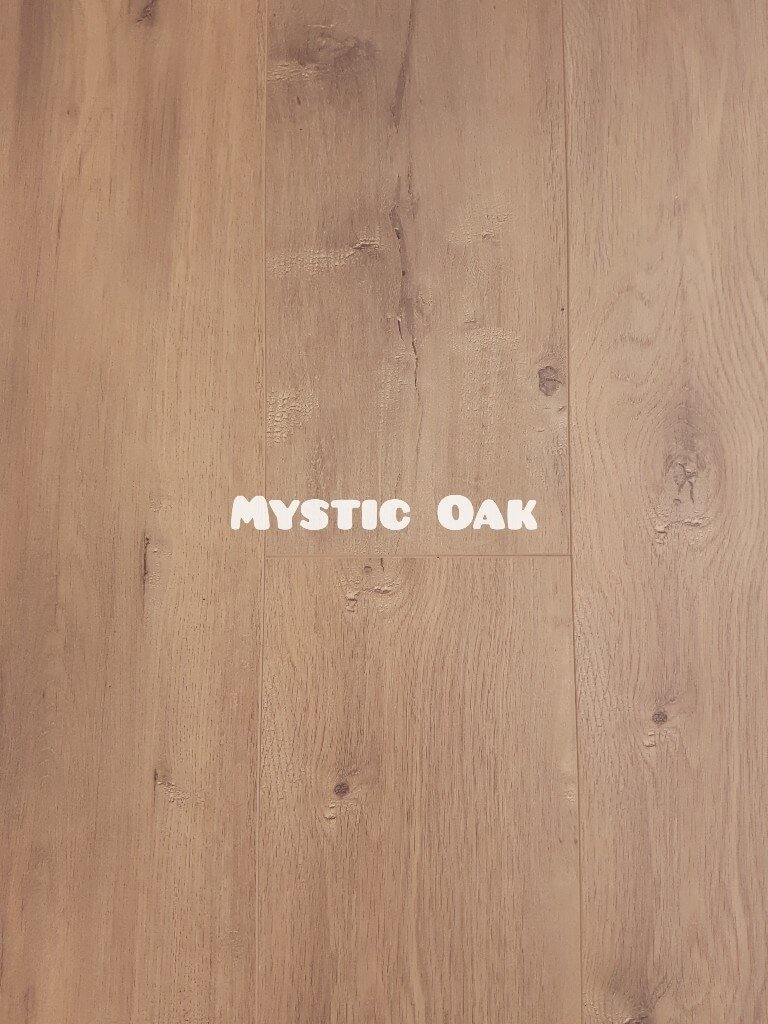 OL Mystic Oak colour 8mm laminate floor