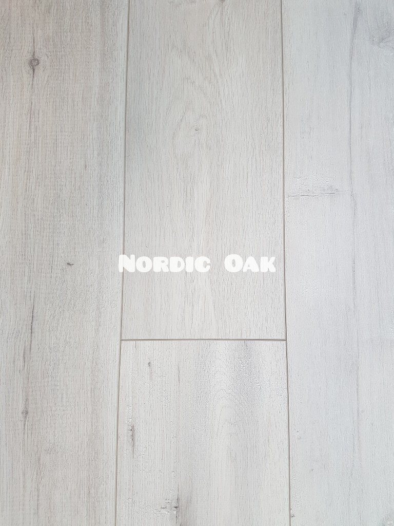 OL Nordic Oak colour 8mm laminate floor