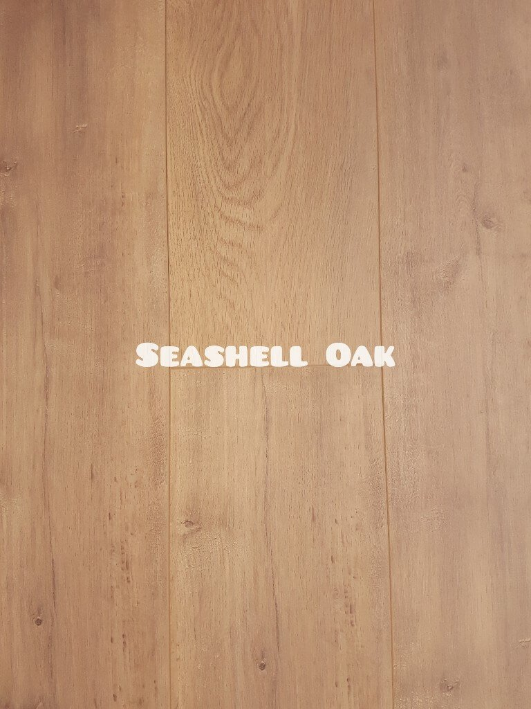 OL Seashell Oak colour 12mm laminate floor