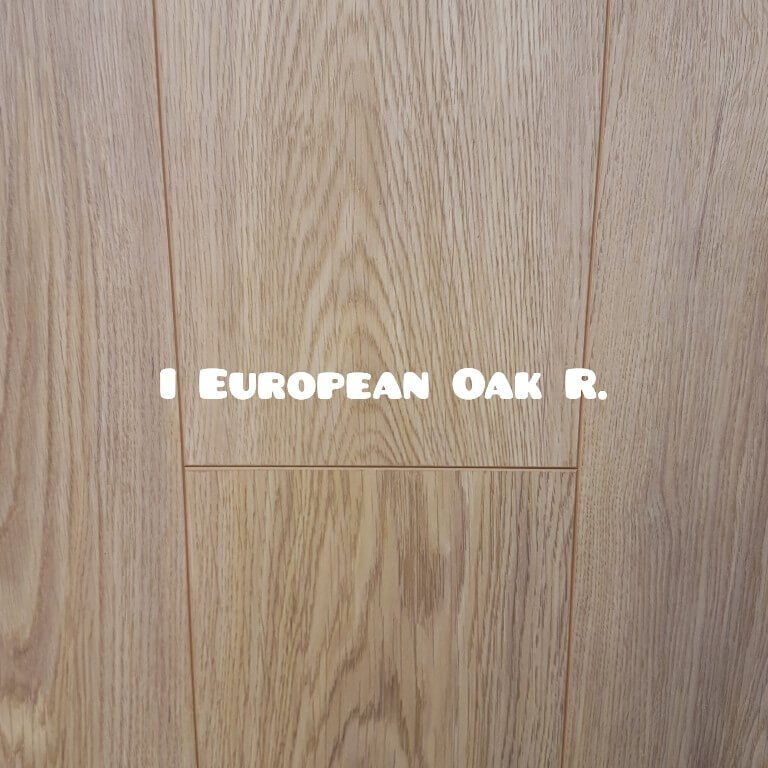 I European Oak colour 12mm water resistant laminate floor