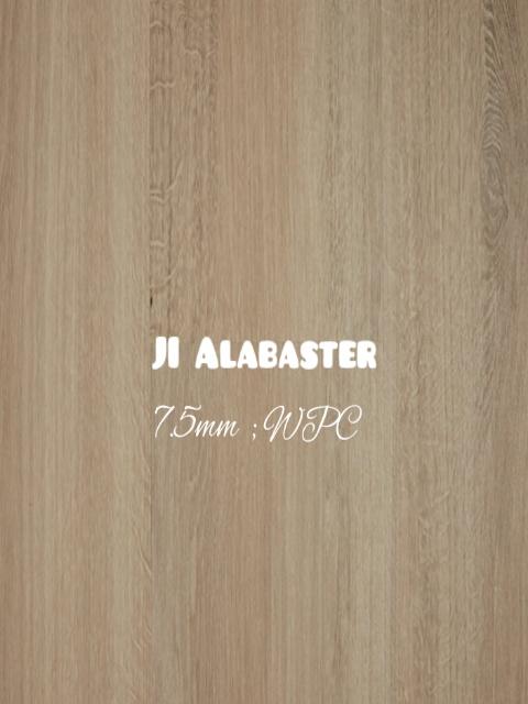 7.5mm Alabaster colour WPC