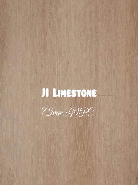 7.5mm Limestone colour WPC