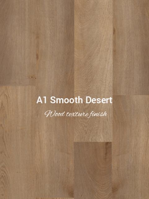 Smooth wood texture Desert Oak colour SPC