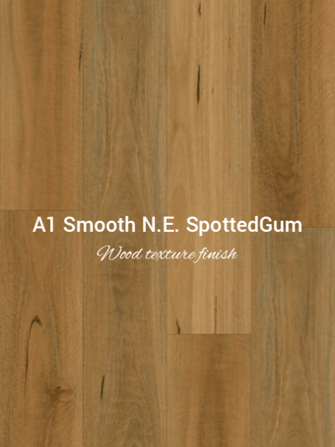 Smooth wood texture New England Spotted Gum colour SPC