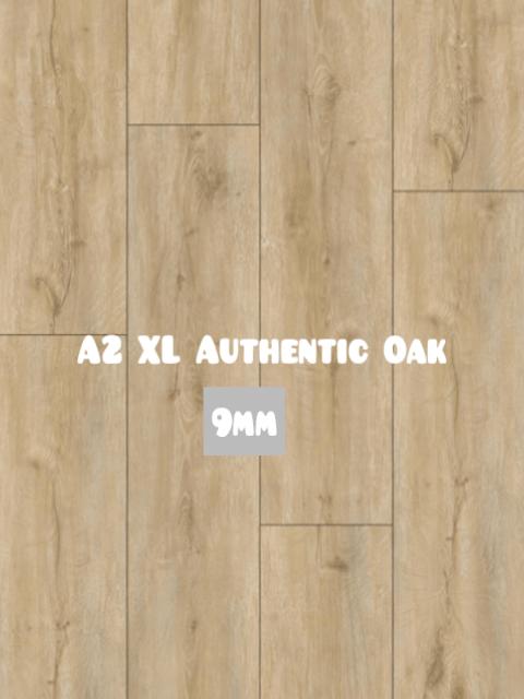 A2 XL Hybrid SPC Authentic Oak color 9mm