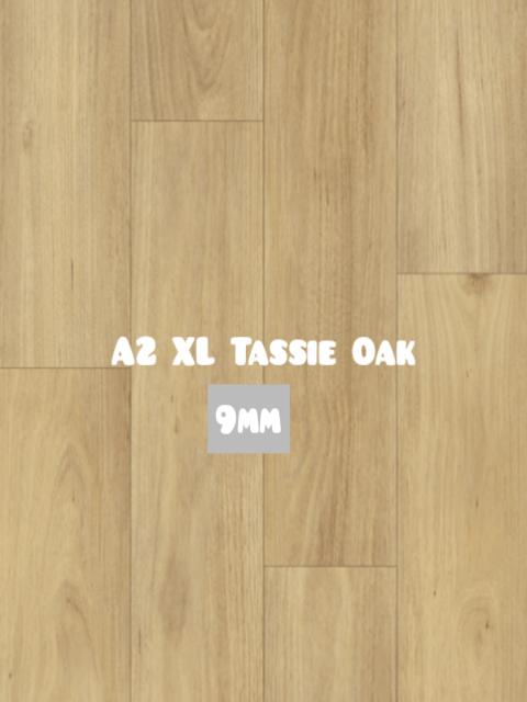 A2 XL Tassie Oak color Hybrid SPC 9mm