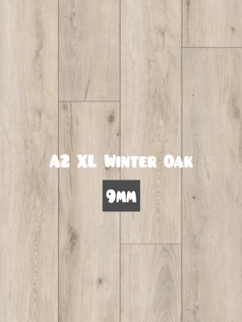 A2 XL Winter Oak color Hybrid SPC 9mm