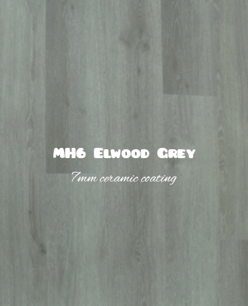 MH6 Elwood Grey color hybrid floor